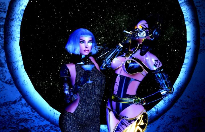 Cyberpunk meets Dubstep at HangarsLiquides
