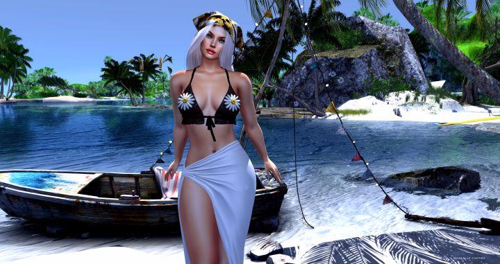 On my beach